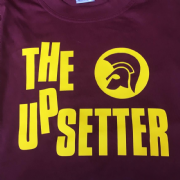 UPSETTER T-SHIRT BURG & YELLOW